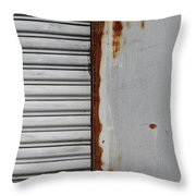 Behind The Shop 1 Throw Pillow