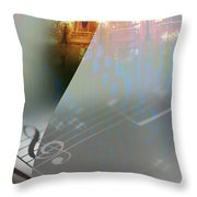 Behind The Vail Throw Pillow