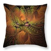 Behold A Universe - Fractal Art Throw Pillow