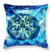 Behold The Jeweled Eye Throw Pillow