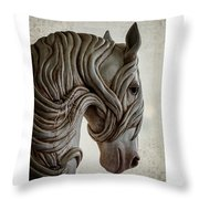 Behold The Pale Horse Throw Pillow
