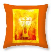 Beholding One With Elevation Throw Pillow