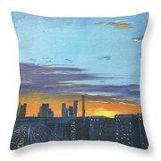 Bei Jing Sunset Throw Pillow