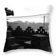 Beijing City 1 Throw Pillow
