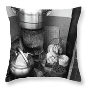 Beijing City 21 Throw Pillow