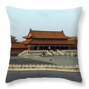 Beijing City 28 Throw Pillow