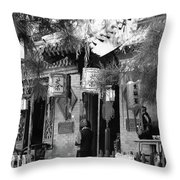 Beijing City 5 Throw Pillow