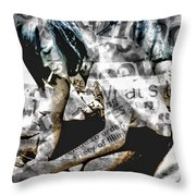 Being 17 Throw Pillow