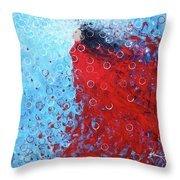 Being A Woman 6 - In Water Throw Pillow
