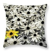 Being Different Throw Pillow