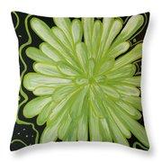 Being Green Throw Pillow