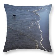 Being One With The Gulf - Pinpointing Throw Pillow