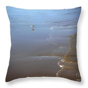 Being One With The Gulf - Still Throw Pillow