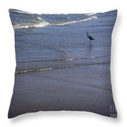 Being One With The Gulf - Watching Throw Pillow