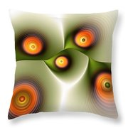 Being Smooth Throw Pillow