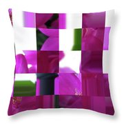 Being Square  Throw Pillow