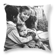 Being Together Is Life Throw Pillow