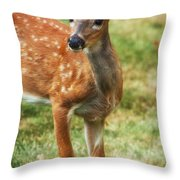 Being Young Throw Pillow