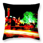 Beirut By Night Throw Pillow