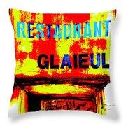 Beirut Funky Hotel  Throw Pillow