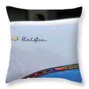 Bel Air Blue Throw Pillow