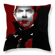 Bela Lugosi Mark Of The Vampire 1935-2015 Throw Pillow