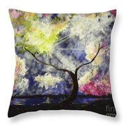 Beleaf Dove House Throw Pillow