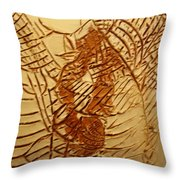Beleive This - Tile Throw Pillow
