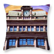 Belfast Architecture 9 Throw Pillow