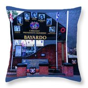 Belfast Mural - Bayardo - Ireland Throw Pillow