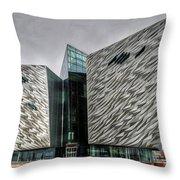 Belfast Northern Ireland United Kingdom Uk Throw Pillow
