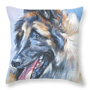 Belgian Tervuren Throw Pillow