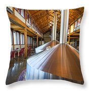 Belgium Tasting Room Throw Pillow