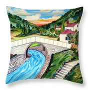 Beli Most Vranje Serbia Throw Pillow