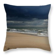 Believe - Jersey Shore Throw Pillow