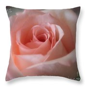 Believe In Yourself Card Or Poster Throw Pillow