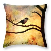 Believing In The Morning Throw Pillow