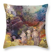 Believing Or Not Believing Throw Pillow