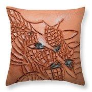 Belinda And Carl - Tile Throw Pillow
