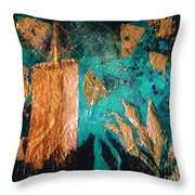 Bell, Book And Candle Throw Pillow