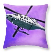 Bell In The Sunset Throw Pillow