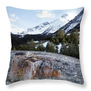 Bell Mountain Throw Pillow