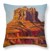 Bell Rock In Sedona Arizona - High Res. Throw Pillow