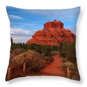 Bell Rock Throw Pillow