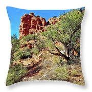 Bell Trail Throw Pillow