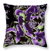 Bella Flora 5 Throw Pillow