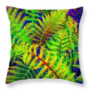 Bella Flora Throw Pillow
