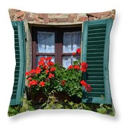 Bella Italian Window  Throw Pillow