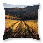 Bella Vida Vineyard 1 Throw Pillow