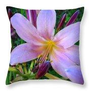 Belladonna Beauty Throw Pillow